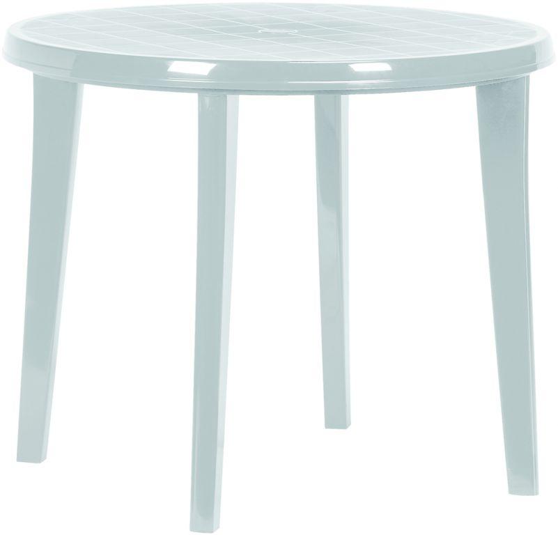 Zahradní plastový stůl LISA - světle šedá