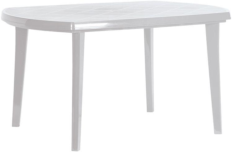 Plastový stůl ELISE - světle šedá
