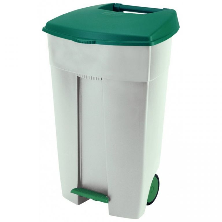 Velká plastová popelnice nášlapná 110 L CURVER