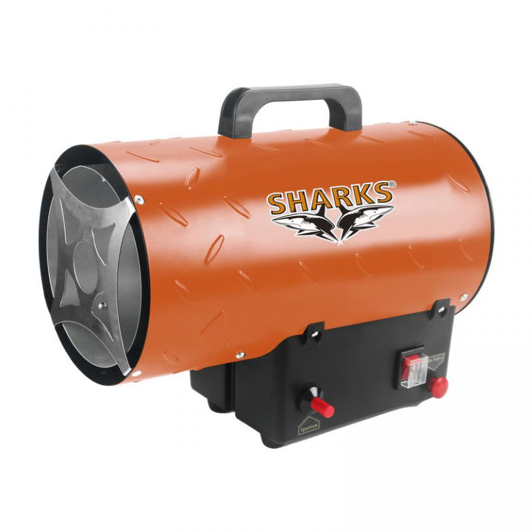 Plynová horkovzdušná turbína - SH 15kW